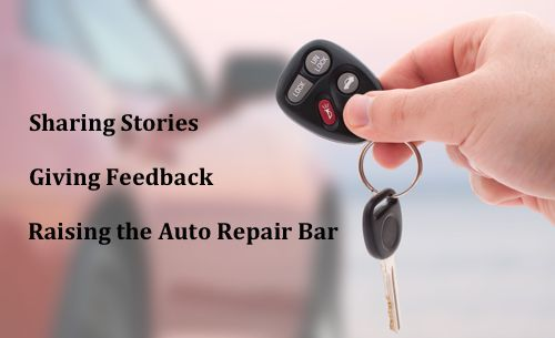 Keys to Auto Repair improvement