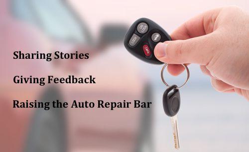 Keys to Auto Repair improvement