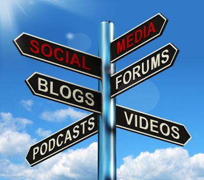 Sign Social Media Blog Forums Podcast