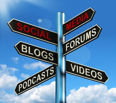 Sign Social Media Blog Forums Podcast